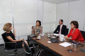 Yolanda Leite, Maristela Mafei, Joaquin Mirkin e Rosa Vanzella (Créditos da foto: Lauro Toledo)